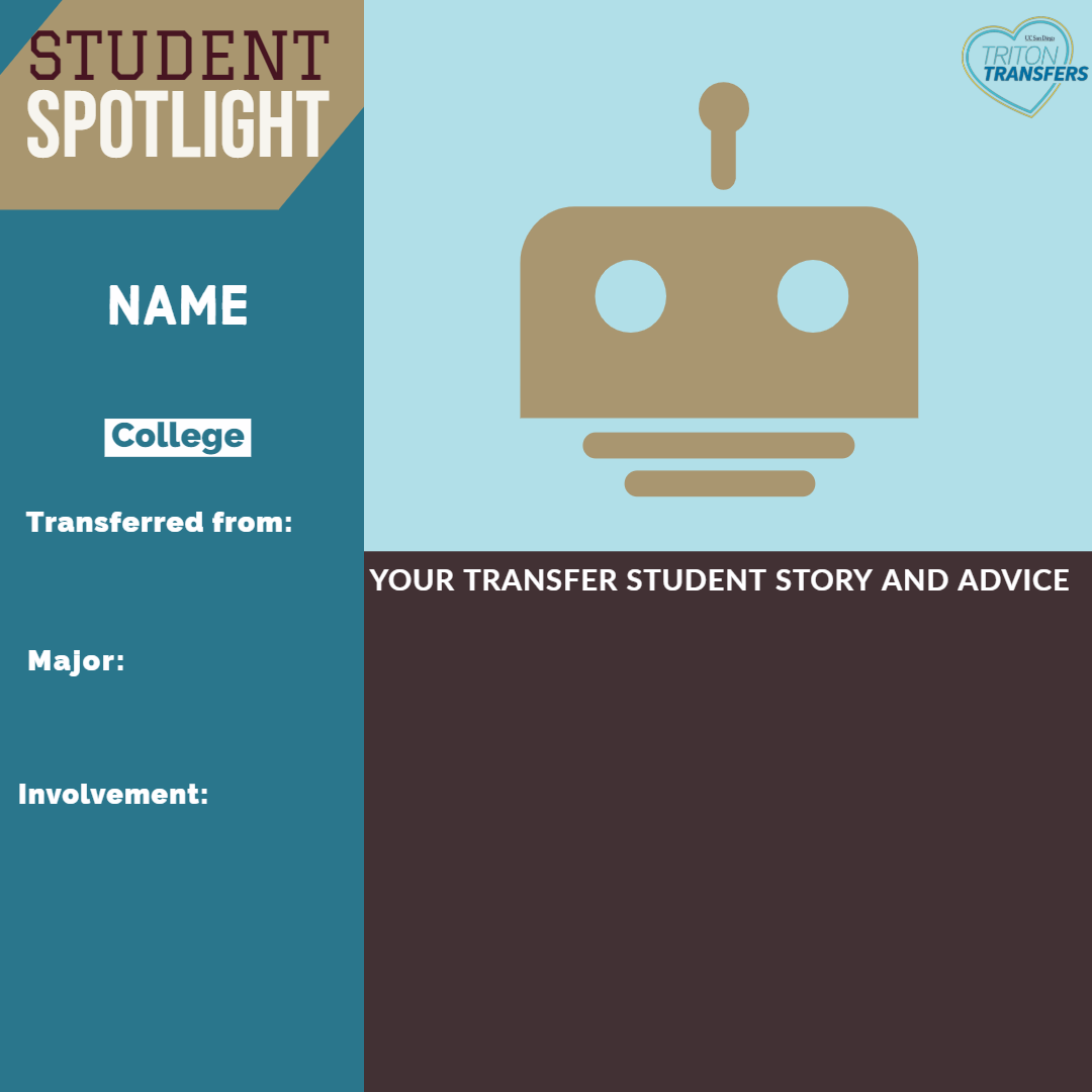 Click this image to access student spotlights